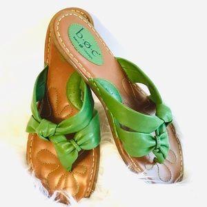 BOC Born green Sandals